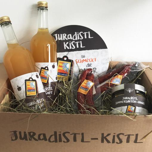 Juradistl – Präsent-Kistl