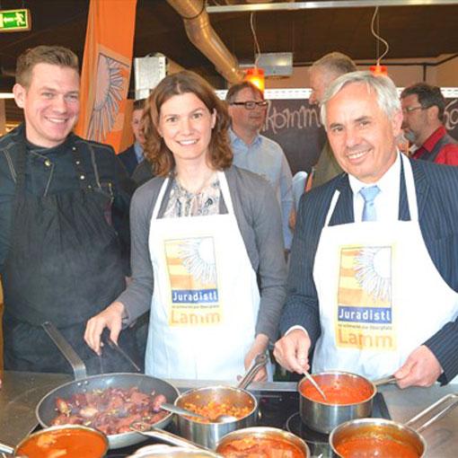 Biotopische Genüsse in der Markthalle – Juradistl-Küchenparty im Zeichen regionaler Spezialitäten