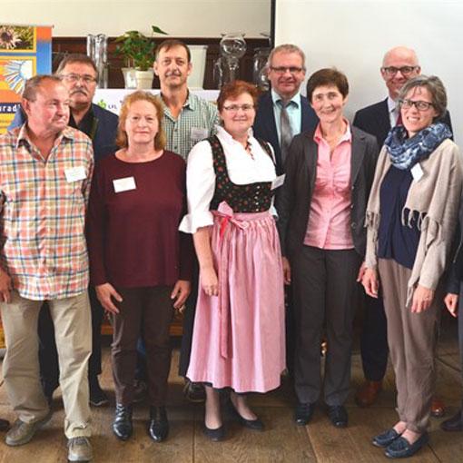 Sieger des Ackerwildkraut-Wettbewerbs 2016 aus Duggendorf